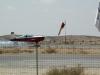 Израиль. Аэропорт «Сде-Тейман». Приземление частного самолета