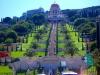 Израиль. Хайфа. Бахайский храм и персидские сады