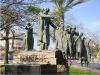 Бат-Ям. Памятник Янушу Корчаку