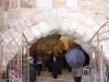 Туннели Западной стены. Вход в подземную систему