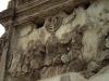 Рим. Триумфальная арка Тита. Фрагмент с менорой