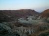 Пейзаж по дороге от Мертвого моря в Арад