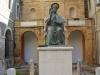Тверия. Двор церкви Св.Петра. Статуя Св.Петра