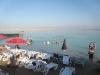 Израиль. Пляж на Мертвом море