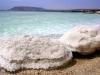 Мертвое море. Солевые валуны на берегу