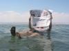 Мертвое море. Отдых с газетой