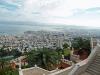 Израиль. Хайфа. Взгляд на Средиземное море от Персидских садов