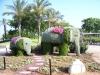 Ашдод. Цветочная скульптура Слоны