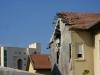 Ашкелон. Жилой дом, пострадавший от минометного обстрела