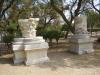 Ашкелон. Национальный парк. Фрагменты мраморных колонн