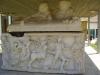 Ашкелон. Найденный при раскопках римский саркофаг