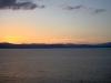 Израиль. Озеро Кинерет на закате