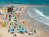 Нетания. Летний отдых на пляже