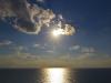 Нетания. Осенний закат над морем