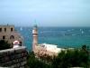 Яффа. Вид с крепостной стены на море и парусники