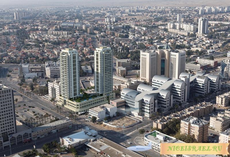 Минстрой пообещал дешевые квартиры и миллионное население в Беер-Шеве
